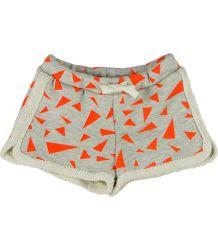 Noé & Zoë Kids Shortie Noe & Zoe Kids shortie orange triangle