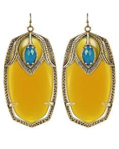 Darby Earrings in Eclipse - Yellow  $49.97