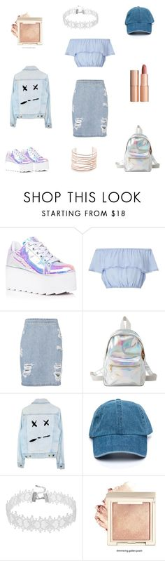 """""""Untitled #10"""" by tatuli-togoxia ❤ liked on Polyvore featuring Y.R.U., Miss Selfridge, IRO, Charlotte Russe, Charlotte Tilbury and Alexis Bittar"""