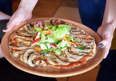 Recipes, restaurants, how-tos and more from the team at Flatbread Pizza, Japchae, Pizza Food, Treats, Fresh, Chicken, Cooking, Ethnic Recipes, Restaurants