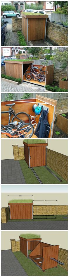 How To Build A Bike Storage Shed: