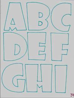 Patrones de Letras Fomiart (abombadas) | Fomiart Graffiti Lettering, Brush Lettering, Bubble Letter Fonts, Alphabet Templates, Alphabet And Numbers, Letter Art, Coloring Pages, Doodles, Prints