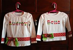 Personalized Christmas Shirts