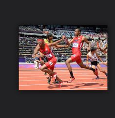I did relay at Belmont and my team got fourth
