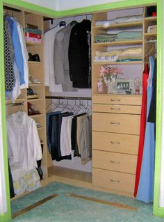 L Shaped Closet Organizer | Empire Closet , Custom Closet | Wix.com