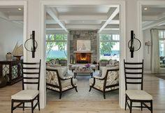 Coastal Living Room. Beach House Coastal Living Room. #Coastal #LivingRoom  Fraerman Associates Architecture