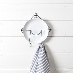 cute wall decor for kitchen/dining Primitive Wire Plate Hanger - Magnolia Market | Chip & Joanna Gaines