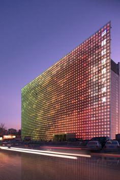 marysoul: GreenPix Energy Media Wall, Beijing by SIMONE GIOSTRA & PARTNERS.