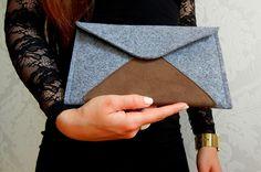 iPad 2, 3, 4, Grau Filz Tasche Hülle von Libivee auf DaWanda.com