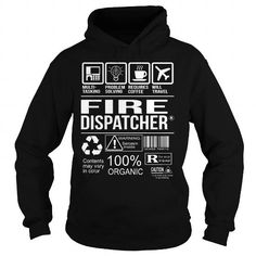 Awesome Tee For Fire Dispatcher #Tshirt #T-Shirts. HURRY:   =>…