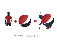 THE LOGIC BEHIND THE PEPSI LOGO BY MOHAMAD TURKY