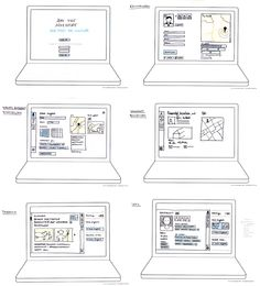 UX Storyboard Example | UX | Pinterest | Storyboard examples ...