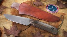 PBA member's hunting knife (project)