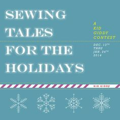 #Contest - #SewingTalesForTheHolidays - you could win a #GrandPrize package worth $475 from @Sizzix, @Dritz Sewing, @Quilty Box, @F+W Craft, @Fiskars HQ, @FreeSpiritFabrics and Bosal Foam! #sewingtales, #kidgiddy