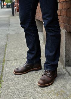 Loving these Wolverine 1000 Mile Boots. They are a lot like the Red Wing Iron Rangers I want.