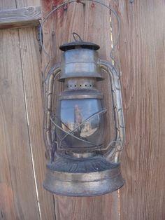 Vintage Lantern Kerosene Dietz No2 Railroad by SusieSoHoCollection, $40.00