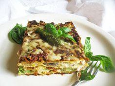 Asparagus Pesto Lasagna with Mushrooms  recipe
