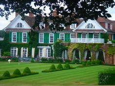 Chewton Glen - incredible place in the English Countryside
