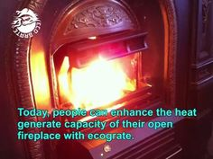 In order to enhance the room temperature most of the people in Ireland build open fireplace in their room. And since ecograte can enhance the heat producing . Open Fireplace