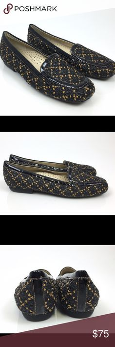 Eric Javits Mesh Black Loafers Shows were on display. Lightly worn on the bottom. Eric Javits New York Shoes Flats & Loafers