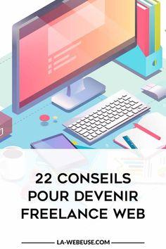 devenir freelance Micro Entrepreneur, Creer Un Site Web, Community Manager, How To Plan, Lausanne, Coin, Tool Box, Internet, Passion