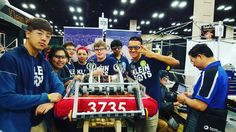Pit prep for our first qualification round! #omgrobots #morethanrobots #frc by 3735kleinbots