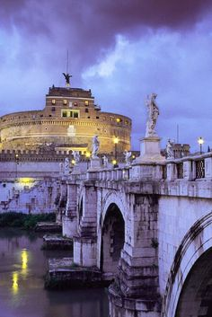 Castel Sant'Angelo in Rome | Stunning Places #Places