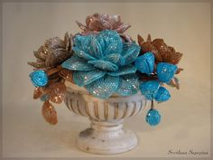 голубой шоколад