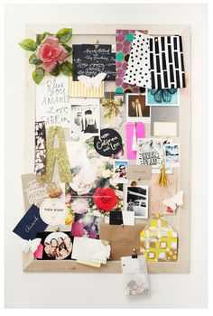 "Love this cork board and I want that glitter A but in ""M"""