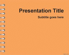 Free education powerpoint templates teacher resourcesfree orange school homework powerpoint template is a free elearning powerpoint template for kids that you can toneelgroepblik Gallery