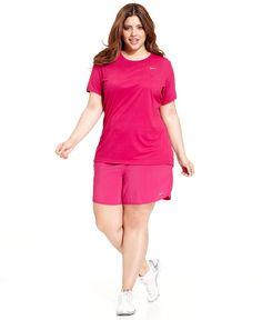 nike miler run tank - women's plus size activewear   exercise