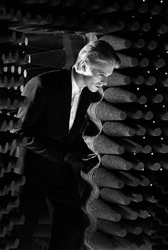 "© Steve Schapiro, 1975, David Bowie, New Mexico ---  ""When I was first photographing David Bowie, he kept changing the most fantastic outfits so quickly that many of them never got photographed. He would come out of the dressing room and before I could lift up a camera he went running back to make an adjustment. He would return twenty minutes later as a totally different person."" (Steve Schapiro)  #celebrities #bowie #schapiro #fashion"