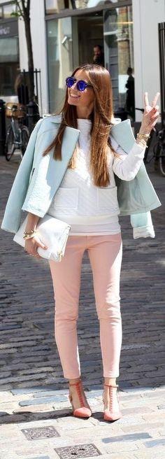 Loving these rose quartz pants!
