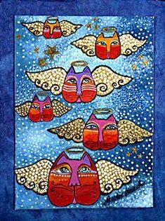 Angel Cats - Laurel Birch