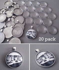 Silver  plated  loop bails approx 12mm x 8mm  x 20 pack    R