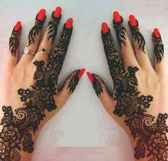 red + henna