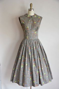 1950's Cotton Day Dress