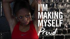 You go girl. Make yourself proud.