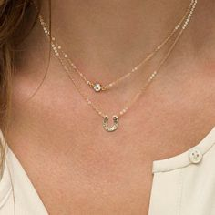 $3.13 Attractive Solid Color U Shape Multi-Layered Women's Necklace
