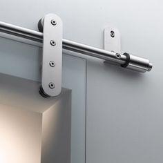 astec b.400 contemporary sliding door hardware