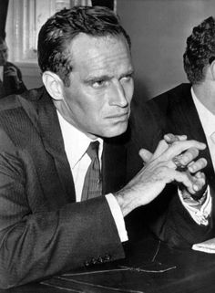 Charlton Heston at a congressional hearing in 1961