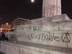 ?Die Whites Die?: Anti-Trump Rioters Vandalize New Orleans Monuments