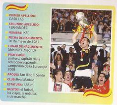Presenta a Iker Casillas