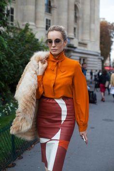 DadyParra.com | Moda: Os Tons Terrosos Invadem o Street Style … | http://dadyparra.com