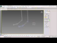 Rigging the Character - Part 1 - Foot Helpers and IK Chains - YouTube