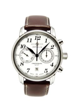 d6f072f8f408a Graf Zeppelin Lz127 Count Zeppelin Chronograph Ref. 7602-1 Gents Watches