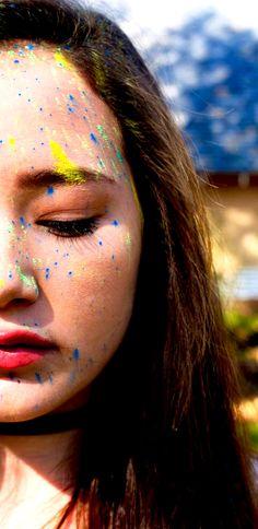 Color  #paint #color #closedeye #photo
