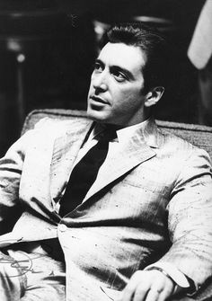 I pinned this image because Al Pacino is my favorite actor of all time and 'The Godfather 2' is one of my favorite films of all time.