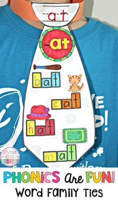 Phonics Are Fun: Word family activities to teach your students how to read and spell by Proud to be Primary