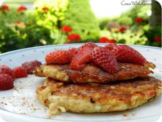 CornerWithRecipes: Owsiane placki śniadaniowe